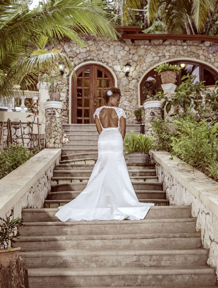 "Destination Wedding in Haiti, Abaka Bay, Ile La Vache, Haiti, Photos by Johnny ""Redlight"" Luc for Lucile & Pierrot"