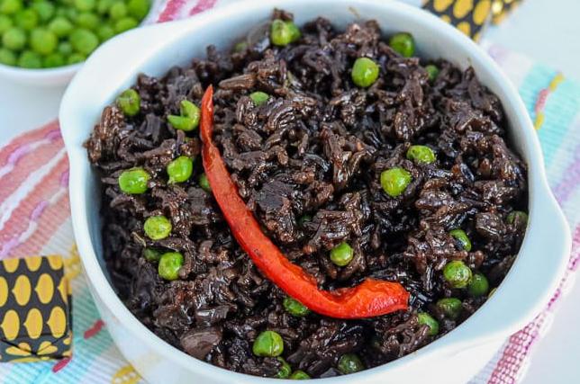 Haitian Black Rice Recipe