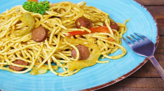 Haitian Spaghetti Recipe