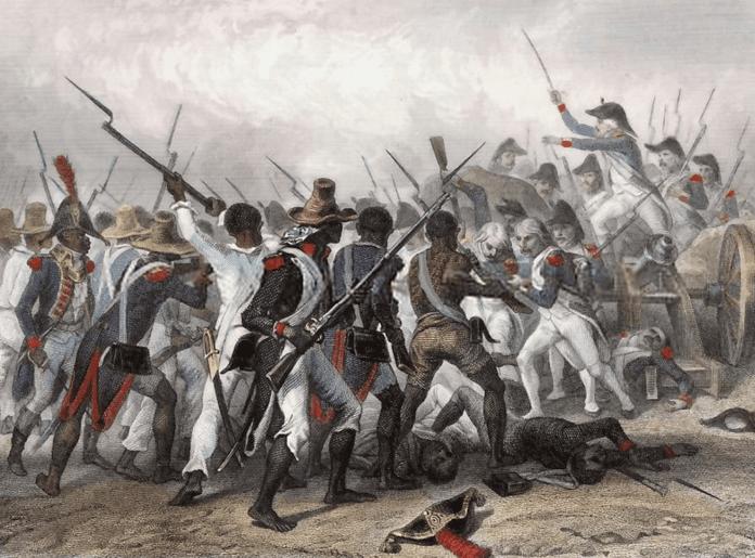 Haitian Revolution - From Histoire de Napoléon, by M. De Norvins, 1839