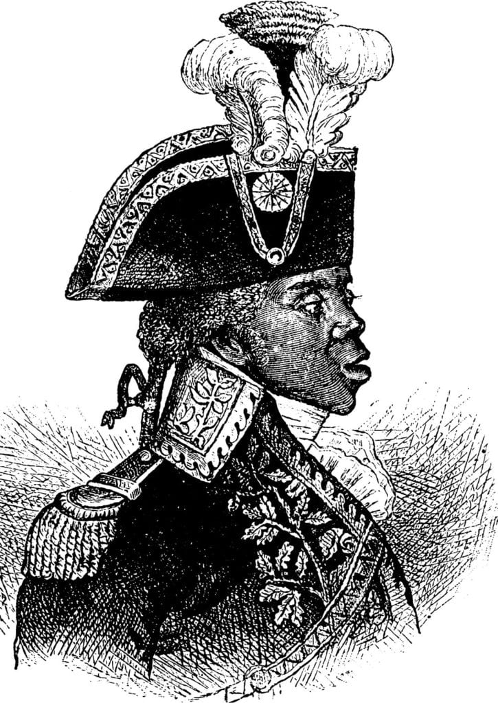 Illustration of Toussaint 'Ouverture by Morphart