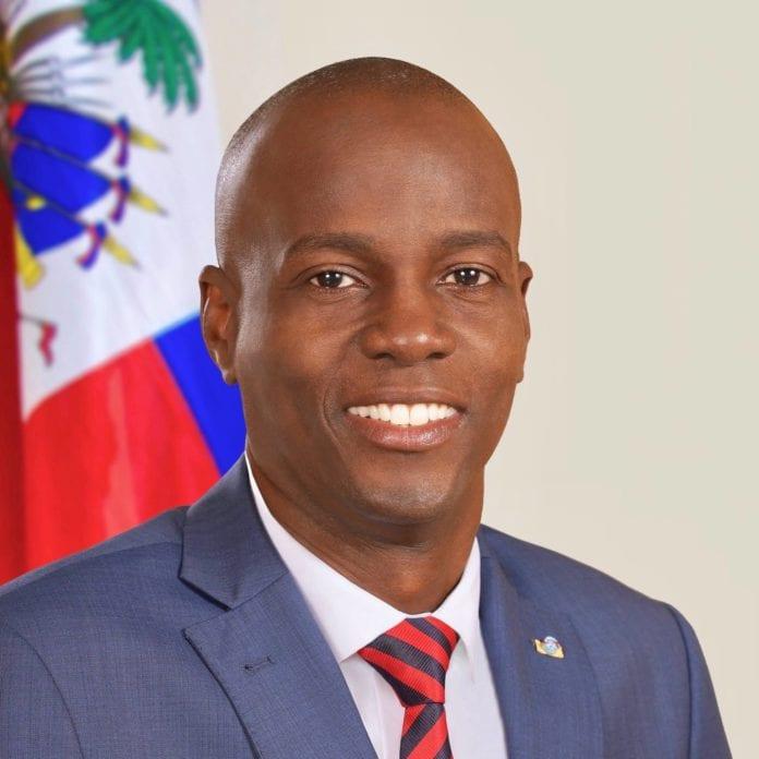 Current President of Haiti Jovenel Moïse