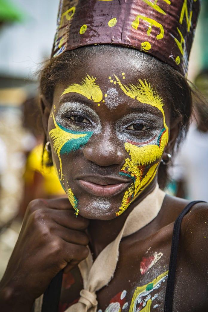 Kanaval in Jacmel, Haiti, Photo by Maxence Bradley